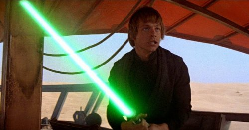 Looks like Disney has made a 'real' lightsaber and this is how it works
