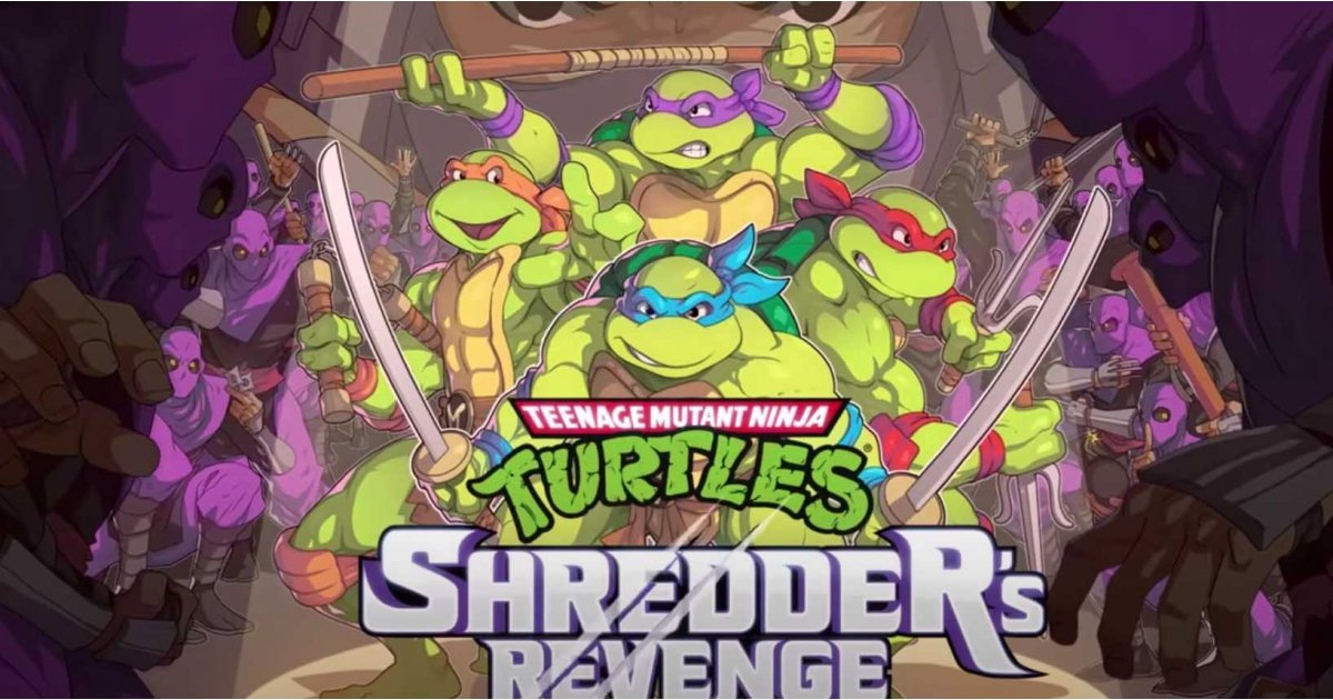 This new TMNT game looks and plays just like the original arcade classic