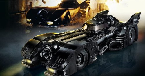 Tim Burton's Batmobile - the best LEGO set we've seen is out now