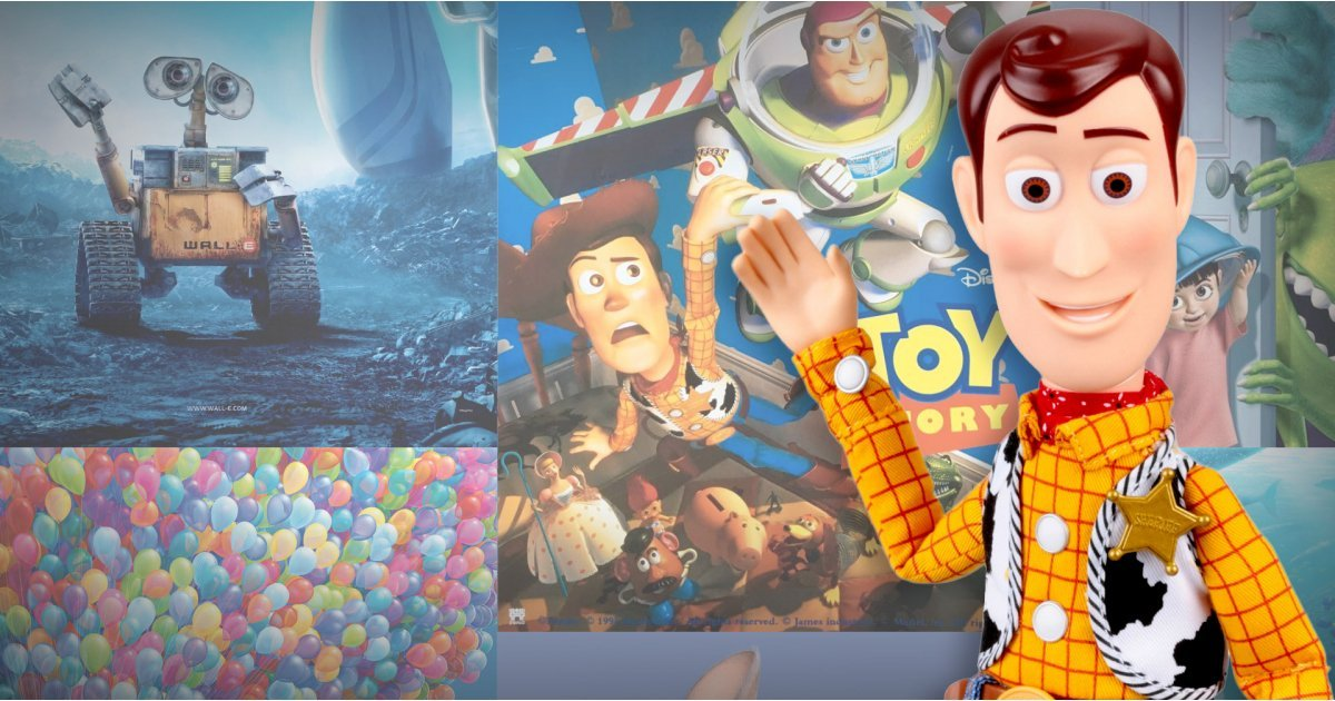 Best Pixar Movies: Top titles from Wall-E to Toy Story