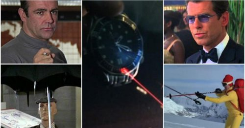 Best Bond Gadgets: from flamethrowing bagpipes to the original smartwatch