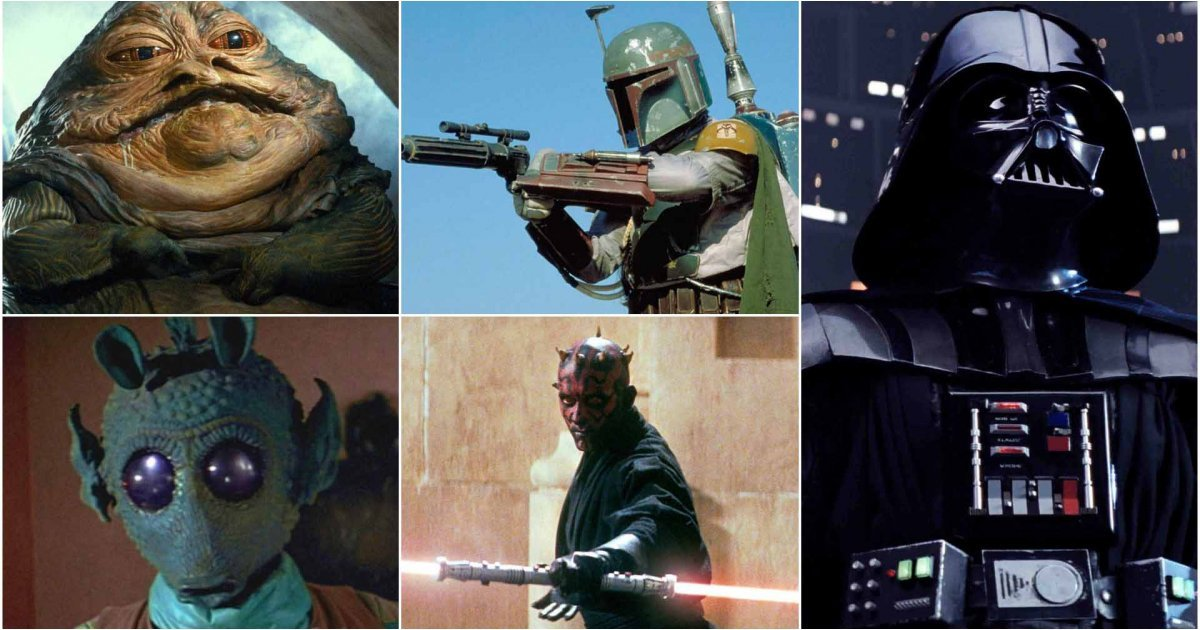 The best Star Wars villains: the ultimate hive of scum and villainy