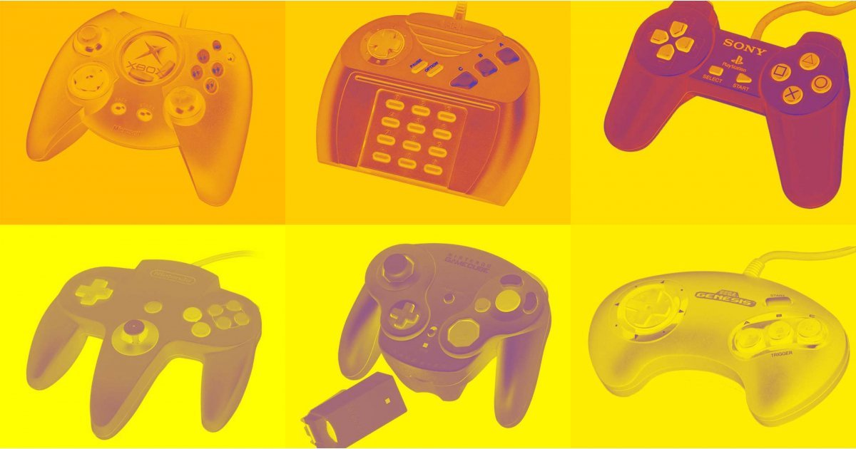 The history of the video game controller
