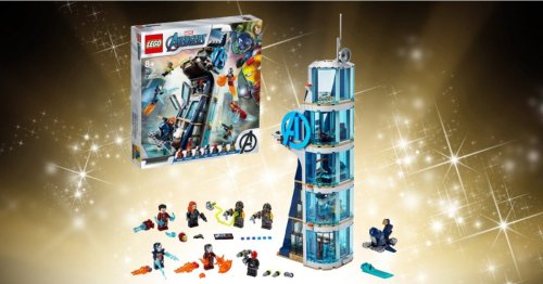 This LEGO x Marvel Avengers Tower Battle set is the cheapest we've seen it