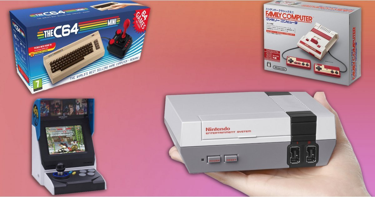 Best retro games consoles in 2021: great takes on old-school gaming