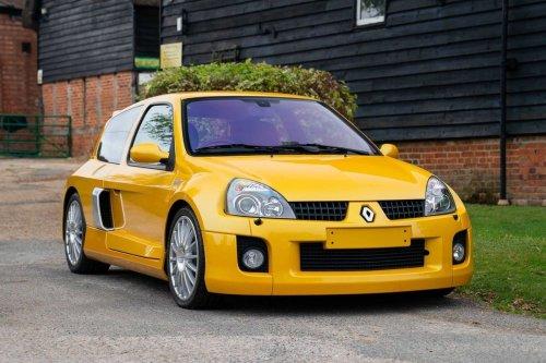 In England - dieser sexy Clio V6 wird einen Auktionsrekord brechen