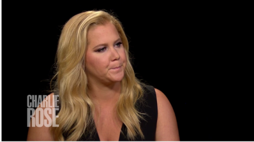 "Watch Amy Schumer Tell Charlie Rose About TV Show: ""There are no plans for coming back"""
