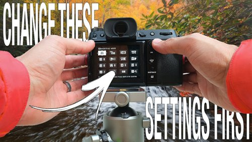 16 Camera Settings You Should CHANGE NOW for Landscape Photography (VIDEO)