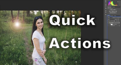 Photoshop's HIDDEN Quick Actions Tools Get it Done FAST (VIDEO)