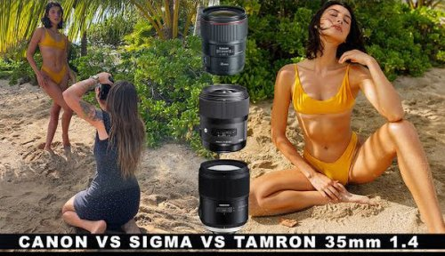 Canon 35mm F/1.4 vs Sigma 35mm F/1.4 vs Tamron 35mm F/1.4 Lens Shootout!