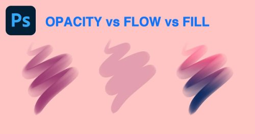 Photoshop Basics: The Difference Between Flow, Fill & Opacity (VIDEO)