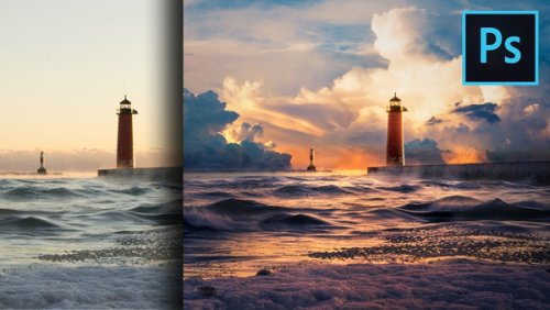 Photoshop Tips: Here's How to Add Clouds & Enhance Colors for More Dramatic Landscape Photos (VIDEO)