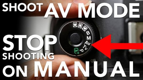 """Why This Pro Says """"STOP Shooting in Manual Mode"""" & Use Aperture Priority Instead (VIDEO)"""