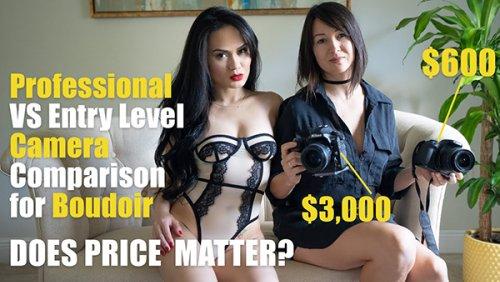 Pro Camera vs Beginner Camera for Boudoir Photography: Does It Matter? (VIDEO)