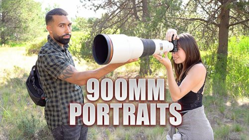 Here's What It's Like to Shoot Crazy 900mm Portraits: Bad Idea or Good Idea? (VIDEO)