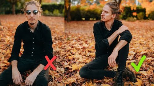How to POSE Men for Portraits Who Are NOT Models (VIDEO)