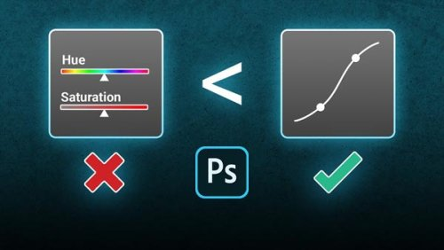 Ditch Photoshop's HSL Tool & Use CURVES Instead
