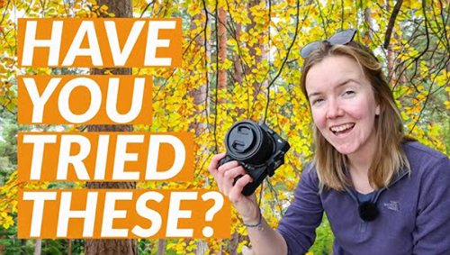 10 Tips for Fabulous Fall Photos When Shooting Travel & Nature Scenes (VIDEO)
