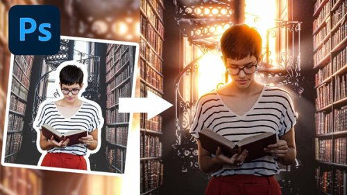 How to Merge 2 Images in Photoshop & Match Color, Perspective & Light (VIDEO)
