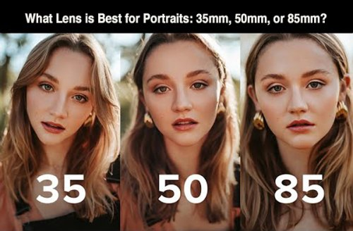 What's the Best Lens for Portraiture: 35mm, 50mm, or 85mm? (VIDEO)