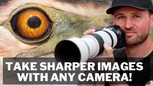How to Shoot RAZOR SHARP Photos with ANY Camera