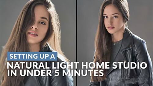 Create a Photo Studio in Your Garage for Portraits & More (VIDEO)