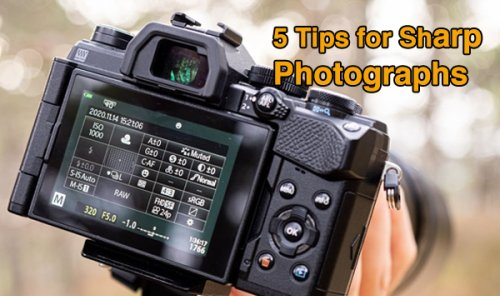 Shoot Super Sharp Photos with These Tips & Tricks (VIDEO)