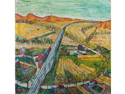 Is This Landscape a Long-Lost Vincent van Gogh Painting?