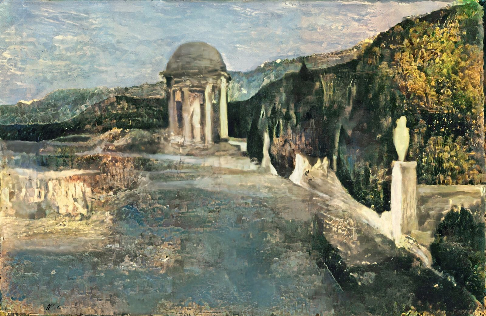 Scientists Used A.I. to Recreate a Landscape Hidden Beneath a Picasso Painting
