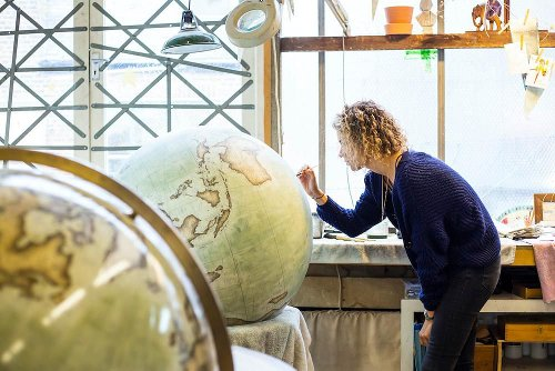 Take a Peek Into One of the Last Studios Still Making Globes by Hand