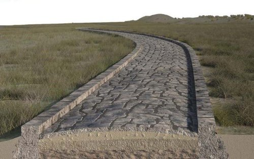 Traces of Submerged Roman Road Found Beneath Venetian Lagoon