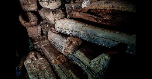 Inside the Tombs of Saqqara