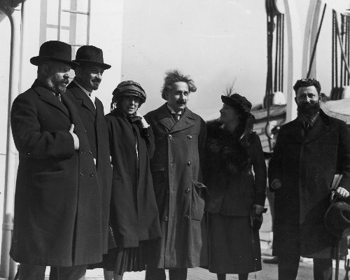 One Hundred Years Ago, Einstein Was Given a Hero's Welcome by America's Jews