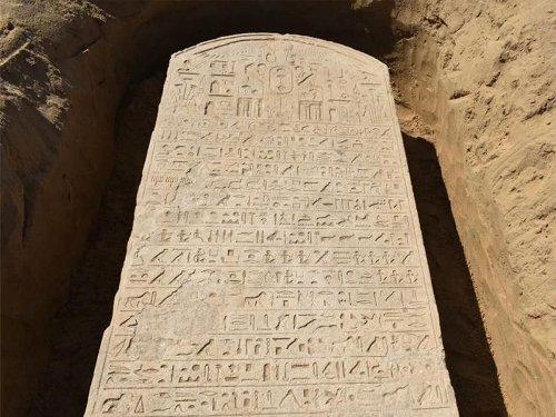 Farmer Stumbles Onto Egyptian Pharaoh's 2,600-Year-Old Stone Slab
