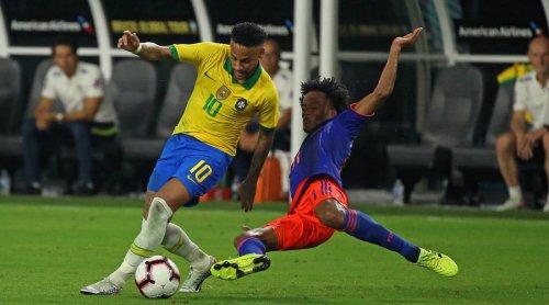 Neymar Grabs Goal, Assist in Brazil Return as Selecao Ties Colombia