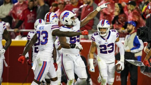 Bills' Safeties Make Taking top off Defense Nearly Impossible