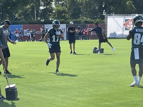 Training Camp Thoughts Day 3: 'A Little Better Each Day' for Hurts