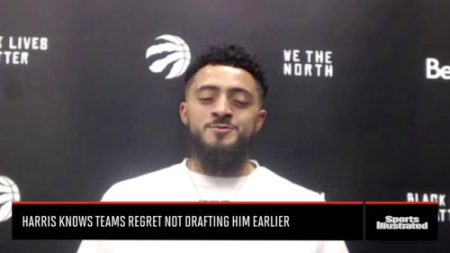 Watch: Harris Says He Knows Teams Regret Passing on Him