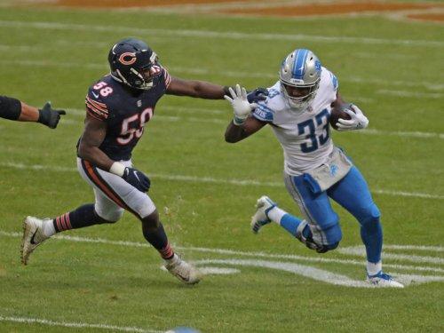 Lions Waive Running Back Kerryon Johnson