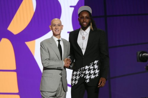 """""""I'm Just Reading It"""" Here's What Adam Silver Joked After Announcing Trade Between Lakers And Wizards And Wizards And Pacers During NBA Draft"""