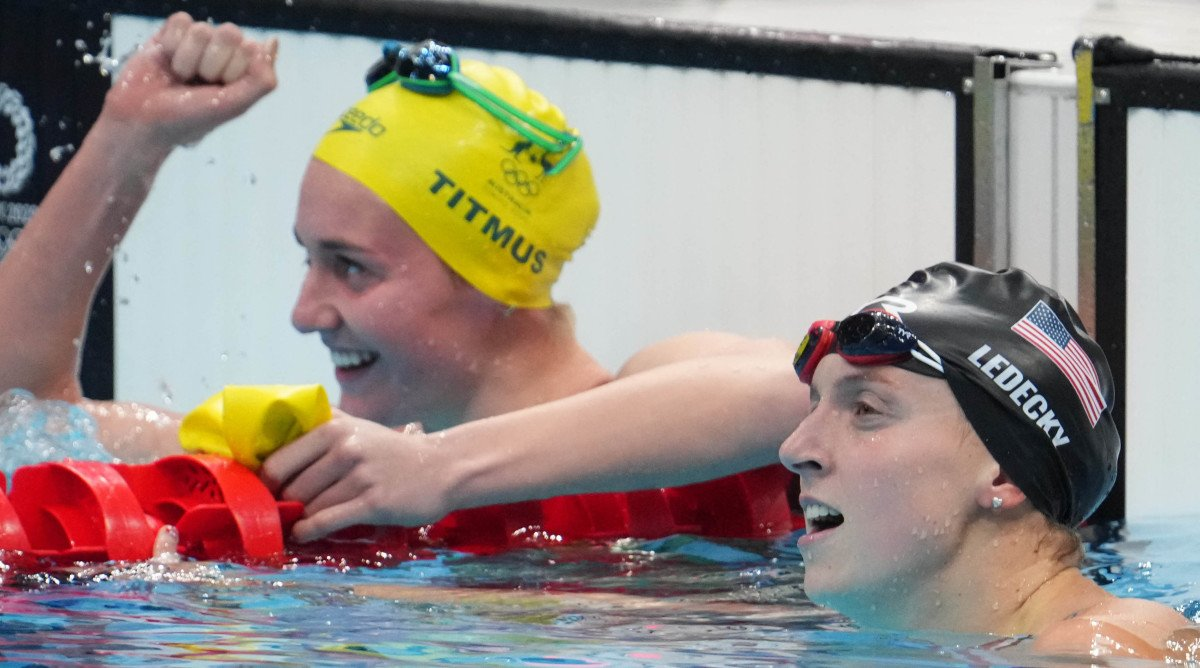 Ledecky's Loss Adds Another Layer of Intrigue to Her Story