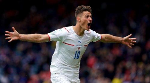 Czech Republic's Schick Scores From Halfway Line, Longest Goal at Euros since 1980