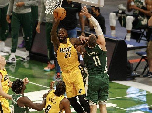 Miami Heat's Dewayne Dedmon Could Have An Impact the Remainder of Series Against Bucks
