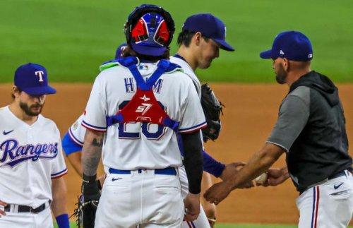 Arihara Struggles In Rangers 7-2 Loss To Astros