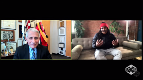 Marshawn Lynch Has Must-See Interview With Dr. Anthony Fauci