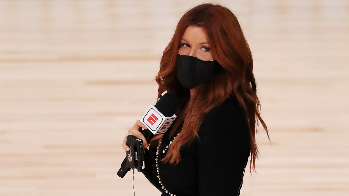 Rachel Nichols Adding Human Element to Coverage of Life in NBA Bubble
