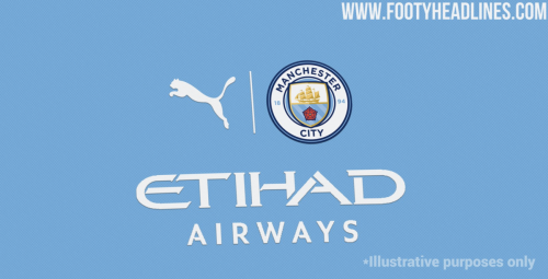 A new logo style could be used on the 2021/2022 Man City kit