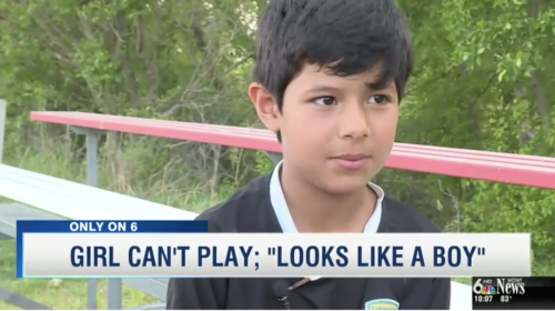 Soccer tournament bans 8-year-old girl's entire team because she 'looks like a boy'