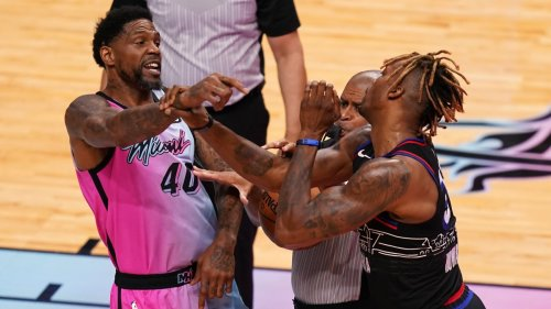 Udonis Haslem Gets Ejected Three Minutes Into Season Debut