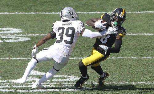 Steelers WR Diontae Johnson Injured on Last Play vs. Raiders
